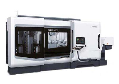 Horizontal CNC machining station model DMG MORI NHX3000