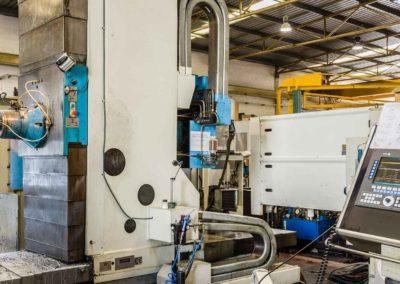 Centro de mandrinado – fresado CNC con mesa giratoria hidrostática TS1
