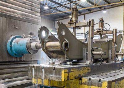 Centro de mandrinado-fresado CNC con mesa giratoria hidrostática TS3